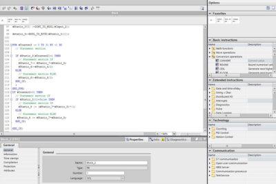 PLC programování